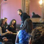 David Chislett presenting- Creative Post its