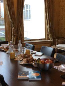 Breakfast and Tony books