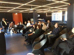 Itzik Amiel presenting- Utrecht