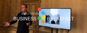 Tony de Bree presenting for ABB Workshop