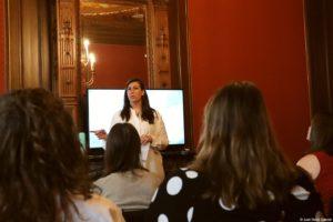 Lara Wilkens - Presenting at Business Breakfast