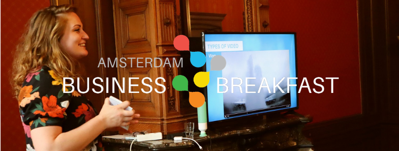 Lian Videovrouw - Business Breakfast cover