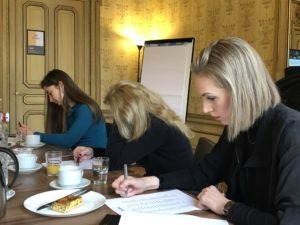 Yustine branding workshop