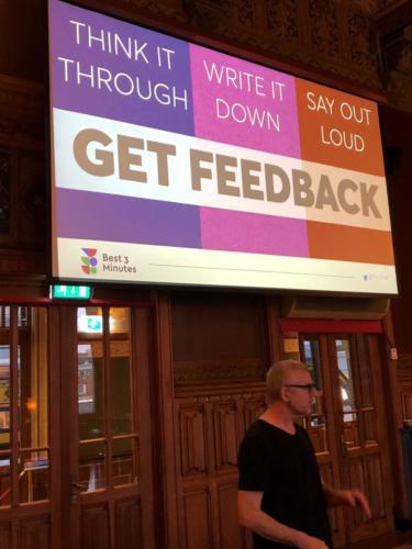 David- Get feedback